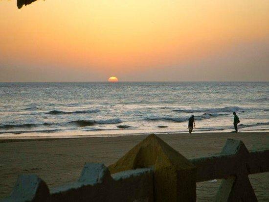 Hotel Vistamar: typical sunset