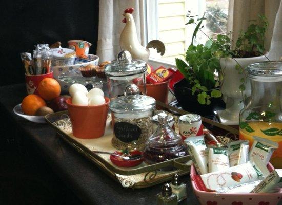 Stanley House Inn: Yummy breakfast choices