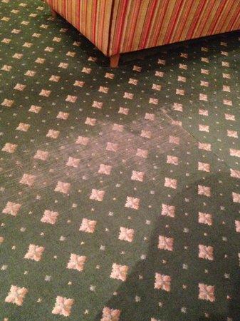 Belle-Essence Seoul Hotel: Club lounge carpet