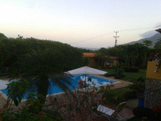 Villa Gaviota : hermosa vista atardecer