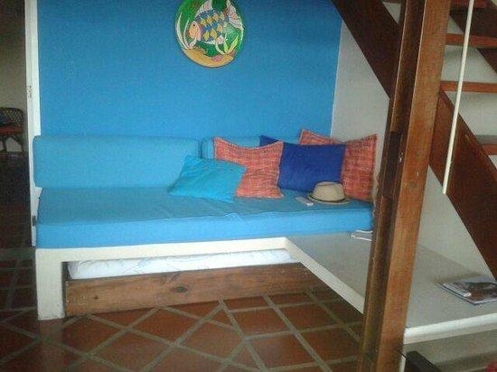 Villa Gaviota : camas