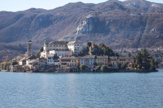 Lake Orta : Looking off to the Island