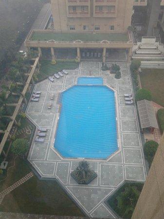 Eros Hotel: Вид с 9 этажа