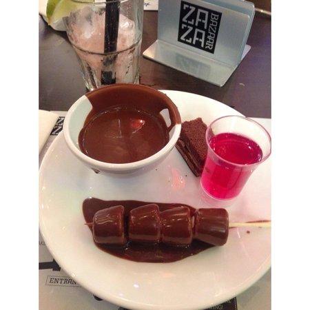 "Za Za Bazaar: Average food ""not the best"""