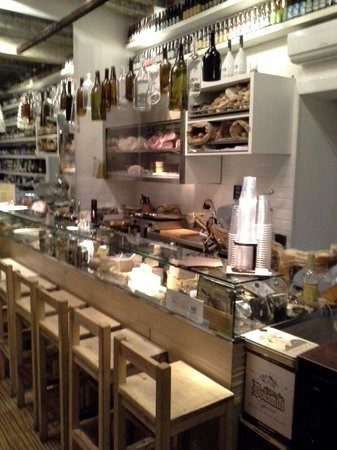 Baguetteria del Fico: The meat and cheese selection
