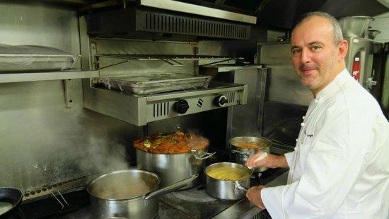 Olivier Broyer Chef Cuisinier Picture Of La Tablee Medievale Civrieux D 39 Azergues Tripadvisor