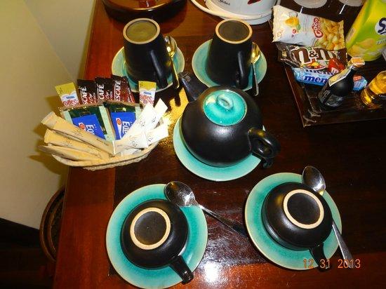 Victoria Chau Doc Hotel: x il caffé