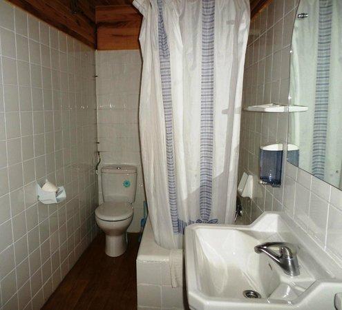 El Último Bucardo: Baño de la habitación