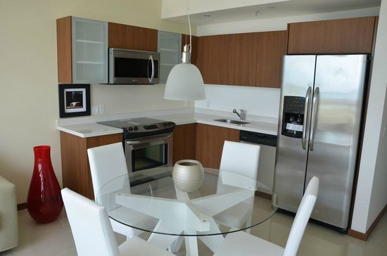 Blue Residences: Fully equipped kitchens
