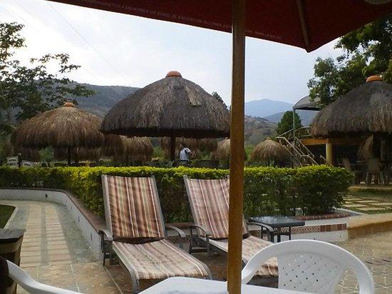 Hosteria Tonusco Campestre: View from pool.