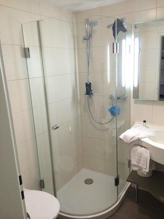 Hotel Hirsch: shower