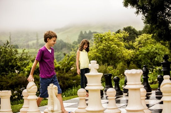 Drakensberg Sun Resort : A quick game of Chess
