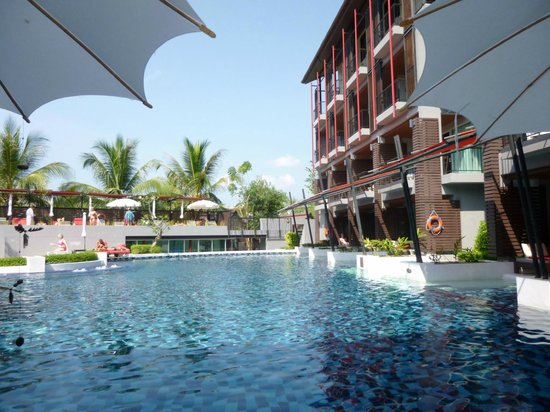 Red Ginger Chic Resort: did,nt even get a dip