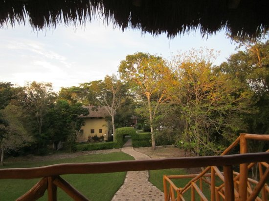 Chicanna Ecovillage Resort: From our balcony