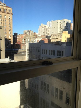 Chancellor Hotel on Union Square: This time we actually had a view.