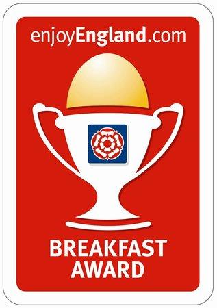 Dorchester Guest House : Visit Britain Breakfast Award
