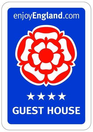 Dorchester Guest House : Visit Britain 4 Star Award