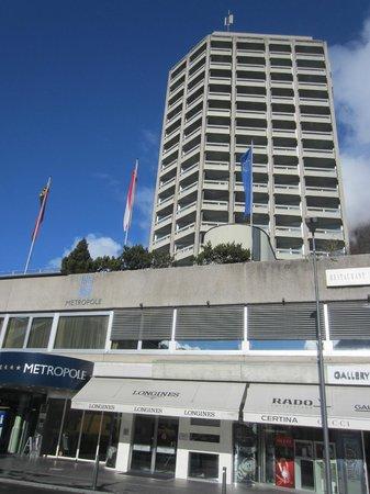Metropole Hotel Interlaken: Hotel,