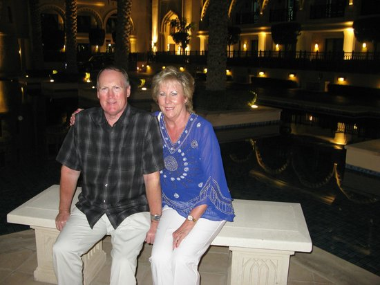 Palace Downtown : Ken and Linda outside the Palace Hotel