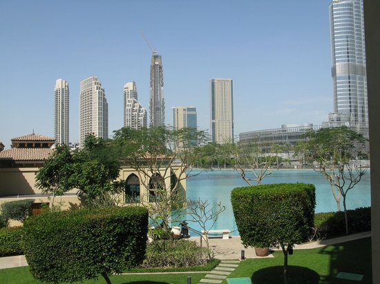 The Palace Downtown Dubai: View from our romm