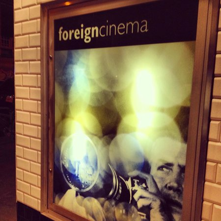 Foreign Cinema: The Front Entrance