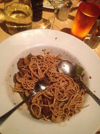 Pizzeria Giuseppe: Asian noodles: very good!