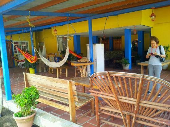 Hotel Residencial El Valle: Terraza del hotel