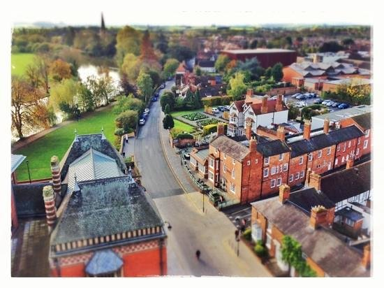 The Royal Shakespeare Theatre: View from the tower