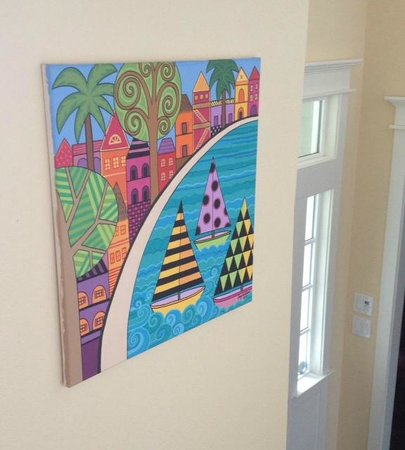Belizean Melody Art Gallery: Original painting by Amy Oldham