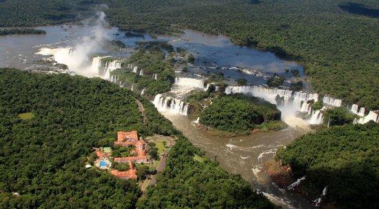 Foz do Iguaçu : Vue du ciel