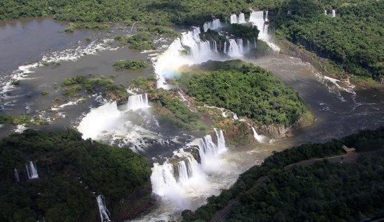 Foz do Iguaçu : Les chutes côté brésilien