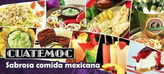 Cuatemoc Tex Mex Restaurante: Deliciosa comida Mexicana en Ambato