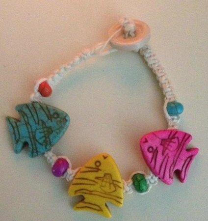 Belizean Melody Art Gallery: Bracelet handmade in San Pedro, Belize