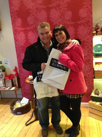 Cranachan & Crowdie: Diane and Ian made our day with their first and second visits!