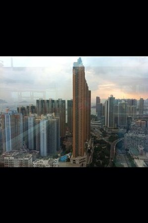 Cordis, Hong Kong : Another view from our bedroom.