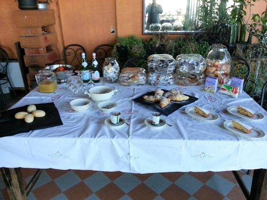 Bellavista Boutique Hotel: Super colazione a buffet