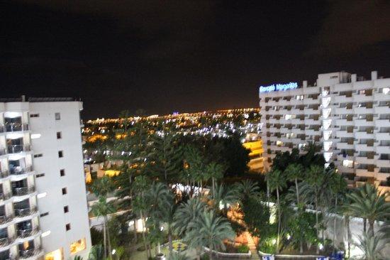 Barcelo Las Margaritas: Utsikt från ballkongen