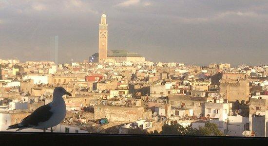 Hyatt Regency Casablanca : The view from the 7th floor