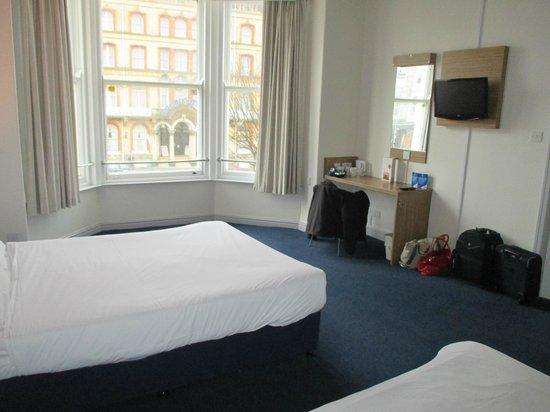 Travelodge Scarborough St Nicholas Hotel: Family room