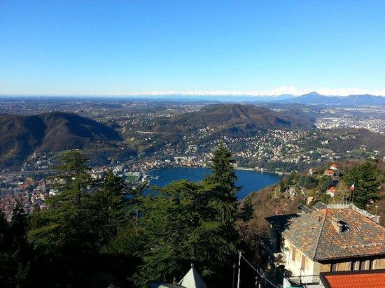 Bellavista Boutique Hotel: Panorama dalla suite (Lago Di Como/Como/Cernobbio/Chiasso)