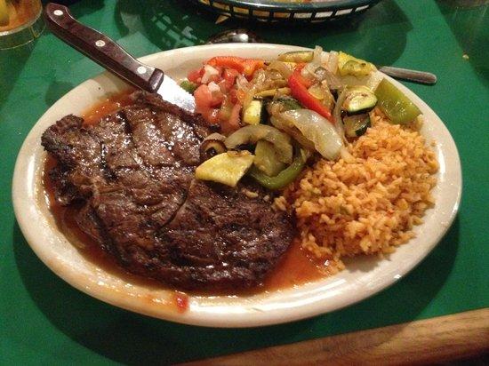 Casa Rio : Ribeye dinner