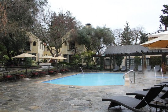 Kenwood Inn and Spa: Kenwood Pool - Taken in early Feb during cooler temps