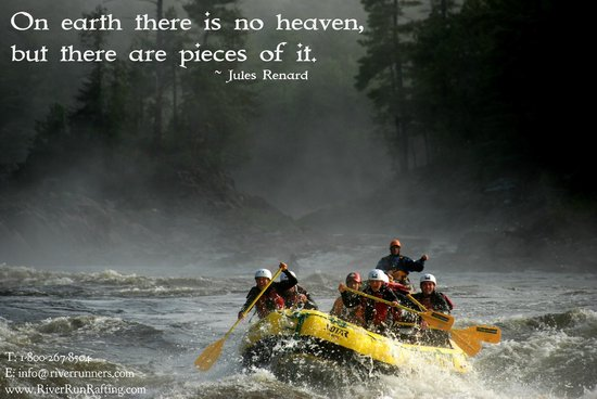 RiverRun Rafting: Let us show you our little piece of heaven