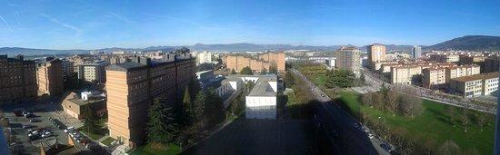 NH Pamplona Iruna Park: Vistas desde 10 planta