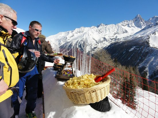 Club Med Chamonix Mont-Blanc : Snack before lunch