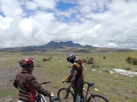 Biking Dutchman: cotopaxi national park