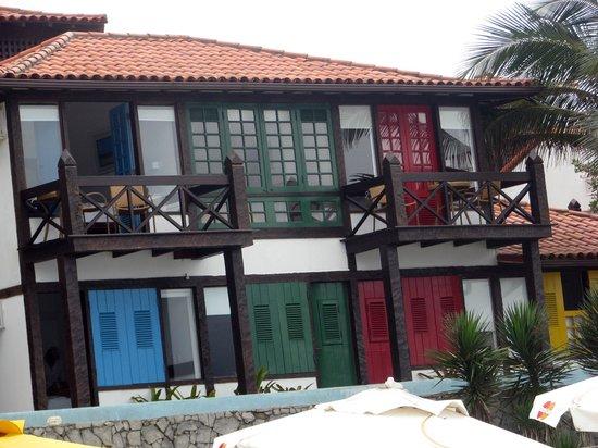 Chez Pitu Praia Hotel: Vista dos apartamentos do segundo andar