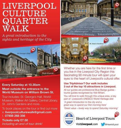 Liverpool Culture Walk