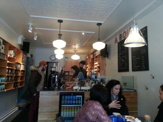 Photo of Cafe MELK Bar a Cafe at 5612 Ave De Monkland, Montreal H4A 1E3, Canada