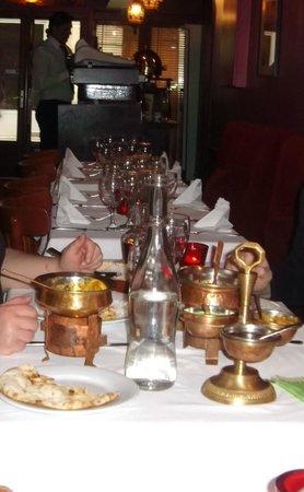 Jaipur Cafe: petits chaudrons